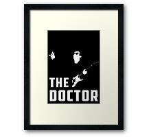 Doctor Who - The Doctor Framed Print
