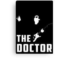 Doctor Who - The Doctor Canvas Print