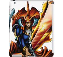 flame swordsman yugioh iPad Case/Skin