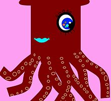 Little Miss Squid by Uncle McPaint
