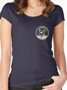 apollo 11 missions Women's Fitted Scoop T-Shirt