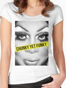 Chunk yet Funky Women's Fitted Scoop T-Shirt