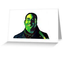 Negan Fanart- Green Ver. Greeting Card