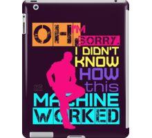 Oh, I'm Sorry, I Didn't Know iPad Case/Skin