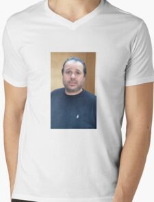 Hugh Mungus Mens V-Neck T-Shirt