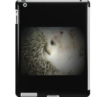 hedgehog curled in a ball iPad Case/Skin