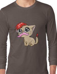 YouTuber Kittens: Markiplier Long Sleeve T-Shirt