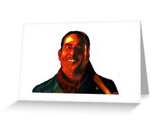 Negan Fanart- Neon Copper Ver. Greeting Card