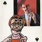 Three of Spades by John Stars