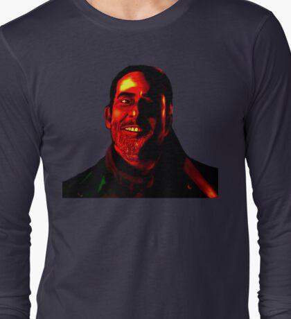 Negan Fanart- Demonized Ver. Long Sleeve T-Shirt