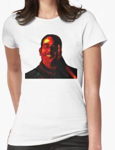 Negan Fanart- Demonized Ver. Womens Fitted T-Shirt