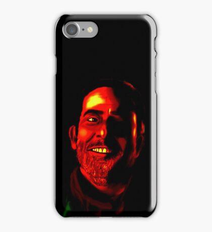 Negan Fanart- Demonized Ver. iPhone Case/Skin