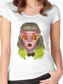 Blaze Women's Fitted Scoop T-Shirt