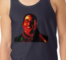Negan Fanart- Posterized Copper Ver. Tank Top