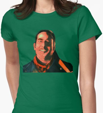 Negan Fanart- Copper Ver. Womens Fitted T-Shirt