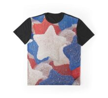 stars and stripes marshmallow wear Graphic T-Shirt