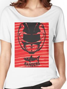 Red Ranger Women's Relaxed Fit T-Shirt
