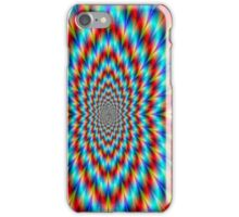 Psychedelic Optical Illusion Rainbow Pattern iPhone Case/Skin