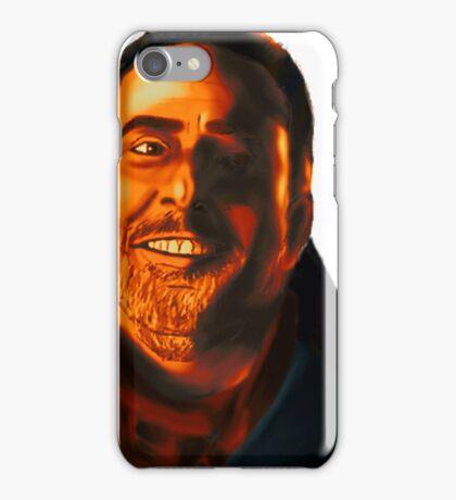 Negan Fanart- Orange Ver. iPhone Case/Skin