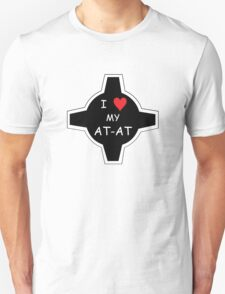 I Love My AT-AT Sticker / Shirt T-Shirt