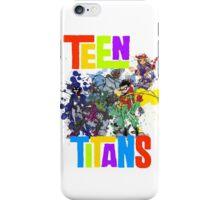 Teen Titans Splatter . iPhone Case/Skin