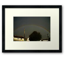 Storm over Horton Framed Print