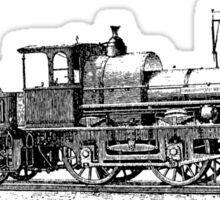 Vintage European Train A3 Sticker