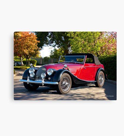 1958 Morgan Plus 4 Drop Head Coupe Canvas Print