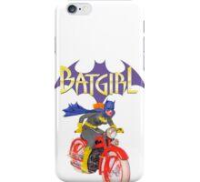 Batgirl on Batbike iPhone Case/Skin