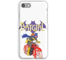 Batgirl on Batbike iPhone Case/Skin