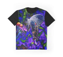 Butterfly Blues Graphic T-Shirt