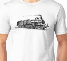 Vintage European Train A4 Unisex T-Shirt
