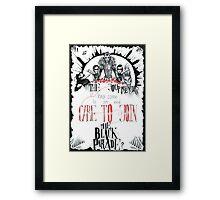 The Black Parade Is Dead! Framed Print