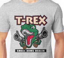 T-Rex Small Arms Dealer Unisex T-Shirt