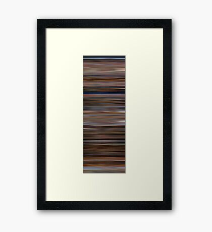 The Big Lebowski Colorblinds Framed Print