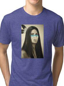 Native Blue Tri-blend T-Shirt