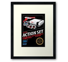 Super Action Set Framed Print