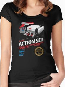 Super Action Set Women's Fitted Scoop T-Shirt