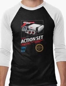 Super Action Set Men's Baseball ¾ T-Shirt