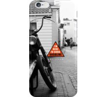 I'm here to burn gasoline // Amsterdam iPhone Case/Skin