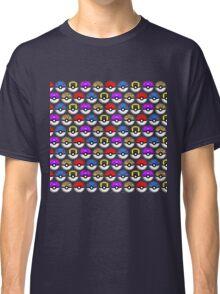 Perfect Pokeball Pattern Classic T-Shirt