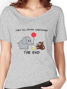 The Elephant Who Lost His Balloon Women's Relaxed Fit T-Shirt