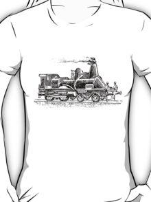 Vintage European Train A10 T-Shirt