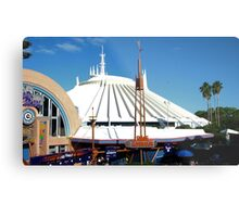 Space Mountain Metal Print