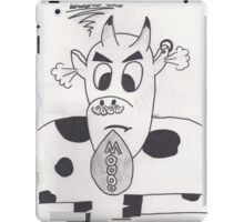 Mad cow iPad Case/Skin