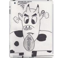 Mad cow iPad Case/Skin