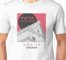 Japanese American Football Unisex T-Shirt