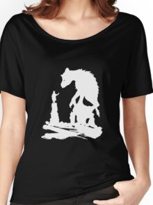 The Last - White Brush  Women's Relaxed Fit T-Shirt