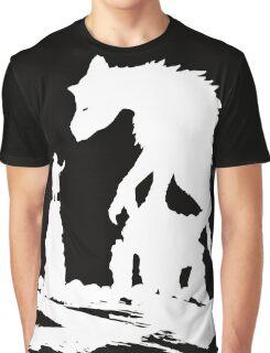 The Last - White Brush  Graphic T-Shirt