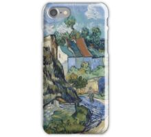 Vincent Van Gogh - Houses In Auvers, 1890 02 iPhone Case/Skin